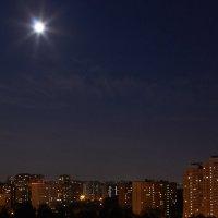 городское полнолуние :: Светлана Моисеева