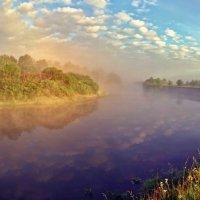 утро.солнце встало.туман... :: юрий иванов