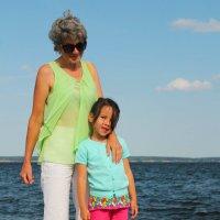 Внучка :: Мария Дулепова