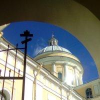 Вид на центральный собор Александра-Невской Лавры. (Санкт-Петербург). :: Светлана Калмыкова