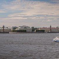 Вид на Биржевую площадь (Санкт-Петербург) :: Борис Гольдберг
