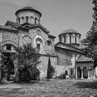 Болгария. Бачковский монастырь черно белое :: Андрей Левин