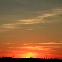 Закат 24 августа 2015 :: Михаил Аленин