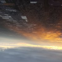 Полет на закате :: Константин Шабалин