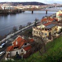 Вид на январскую Прагу с Вышеграда :: Татьяна [Sumtime]