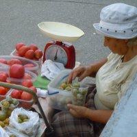 помидорки с грядки :: Ольга Заметалова