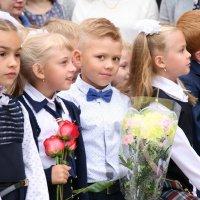Первый раз в первый класс))) :: Ольга Фомичева