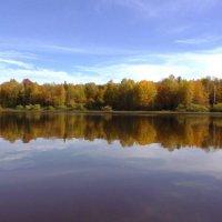 Осень на каме :: Ирина Останина