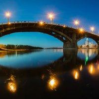 Старый мост через Ангару :: Алексей Белик