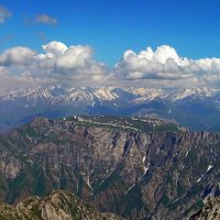 ПРОГУЛКА, плато Паламхан h - 2750м :: Виктор Осипчук