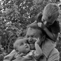 """""""Нелегкие""""и счастливые будни дедушки! =) :: Mila Kulikova"""