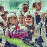 Первый раз в первый класс. :: Ольга Бархатова
