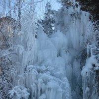 Снежный водопад :: МИЛА Иванова