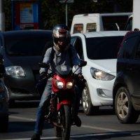 мотоциклист :: Александра