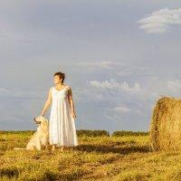 На прогулке в поле. :: Галина Шепелева
