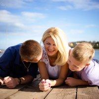 Какое счастье быть мамой двух замечательных ребят!!! :: Аннета /Анна/ Шу