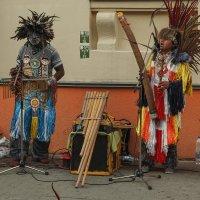 Латиноамериканские музыканты в Минске. :: Александр Манько