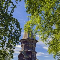 Церковь Успения Пресвятой Богородицы (1774г.) в Кондопоге :: Сергей Фомичев