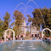 Открытие нового фонтана в Бердске. :: Мила Бовкун