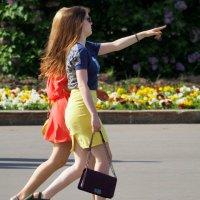 подружки как модельки :: Олег Лукьянов