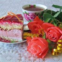 Тортик в день рождения :: Татьяна Смоляниченко