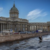 Казанский собор (Санкт-Петербург) день :: Борис Гольдберг