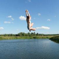Прыжок в лето :: Святец Вячеслав