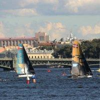 Регата Extreme sailing series :: Вера Моисеева