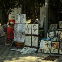 Уличные художники :: Катерина Чебышева