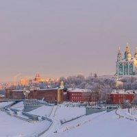 Зимний вечер в Смоленске :: николай смолянкин