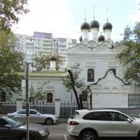 Москва. Церковь Николая Чудотворца на Студенце. :: Александр Качалин