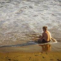 Беспечность, или попой в море... :: Арина