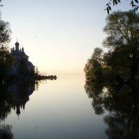 Устье реки Трубеж :: елена