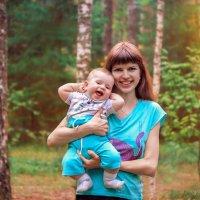 С мамой рядом-это счастье :: Наталья Мячикова