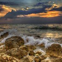 Вечер на море :: Виктор Мороз