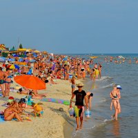 На пляже :: Валентина Данилова