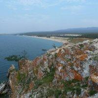 Вид Сарайского пляжа с мыса Бурхан :: Галина