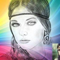 карандашный с цветом :: Анастасия сосновская