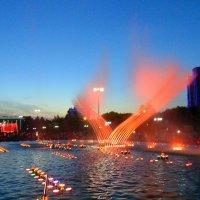 Поющие и танцующие фонтаны. :: Мила Бовкун