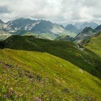 на перевале Анчхо :: Андрей ЕВСЕЕВ