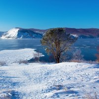 Январь в истоке Ангары :: Анатолий Иргл