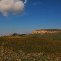 Гора Гум-Баши (Песчаная голова) и Скалистый хребет. Высота 2313м. :: Vladimir 070549