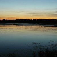 Вечер над озером :: Вадим Шинкарь