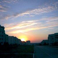 Закат одного городка :: Kameliia Хадлер