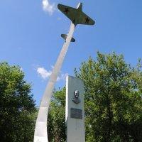 Памятник летчику :: Александра Вертгейм