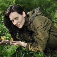 Портрет с дикими орхидеями :: Антон Летов