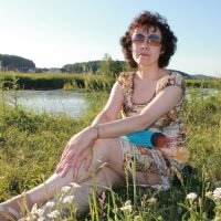 У речки :: Альбина Ставрогина