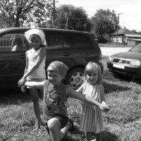 дети в деревне :: Андрей Гликман
