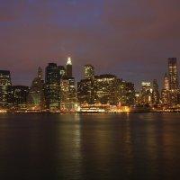 Манхеттен ночью :: Galina Kazakova
