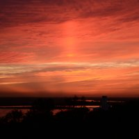 Красный закат :: Глеб Павленко